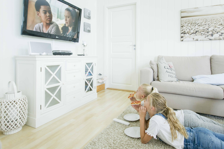 TV på hytta