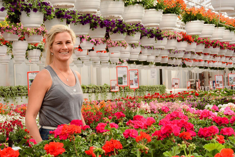 Butikksjefen som sørger for en av Norges vakreste hagebutikker
