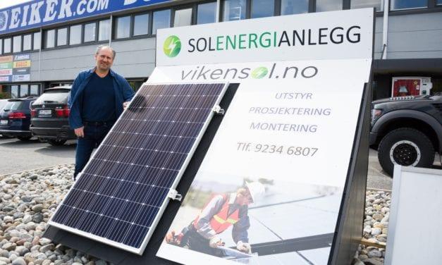 Solcellepaneler er lønnsomt og miljøvennlig